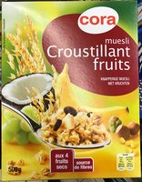 Muesli croustillant fruits - Produit