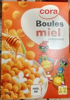 Boules maïs miel - Produit - fr