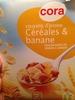 Coussins d'avoine céréales et banane - Product