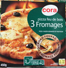 Pizza feu de bois 3 Fromages - Product