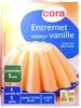 Entremet saveur vanille - Produit