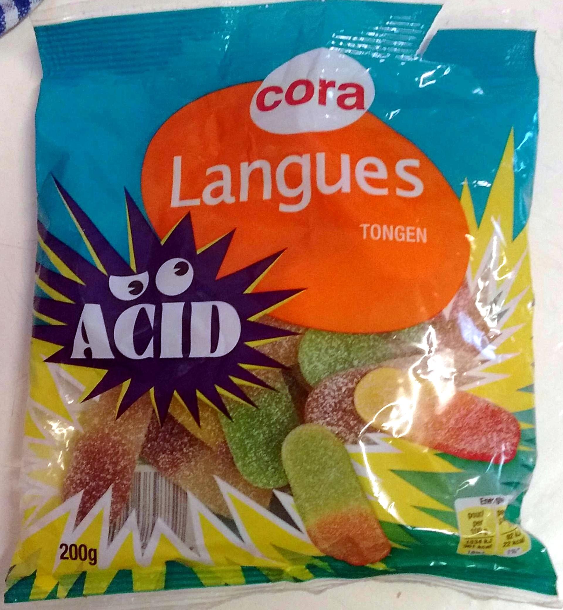 Langues acid - Prodotto - fr