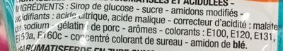 Langues acid - Ingredienti - fr