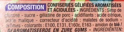 Acid Mix - Ingrédients