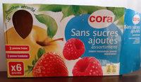 Gourde pomme fraise pomme framboise sans sucre ajoutés - Product