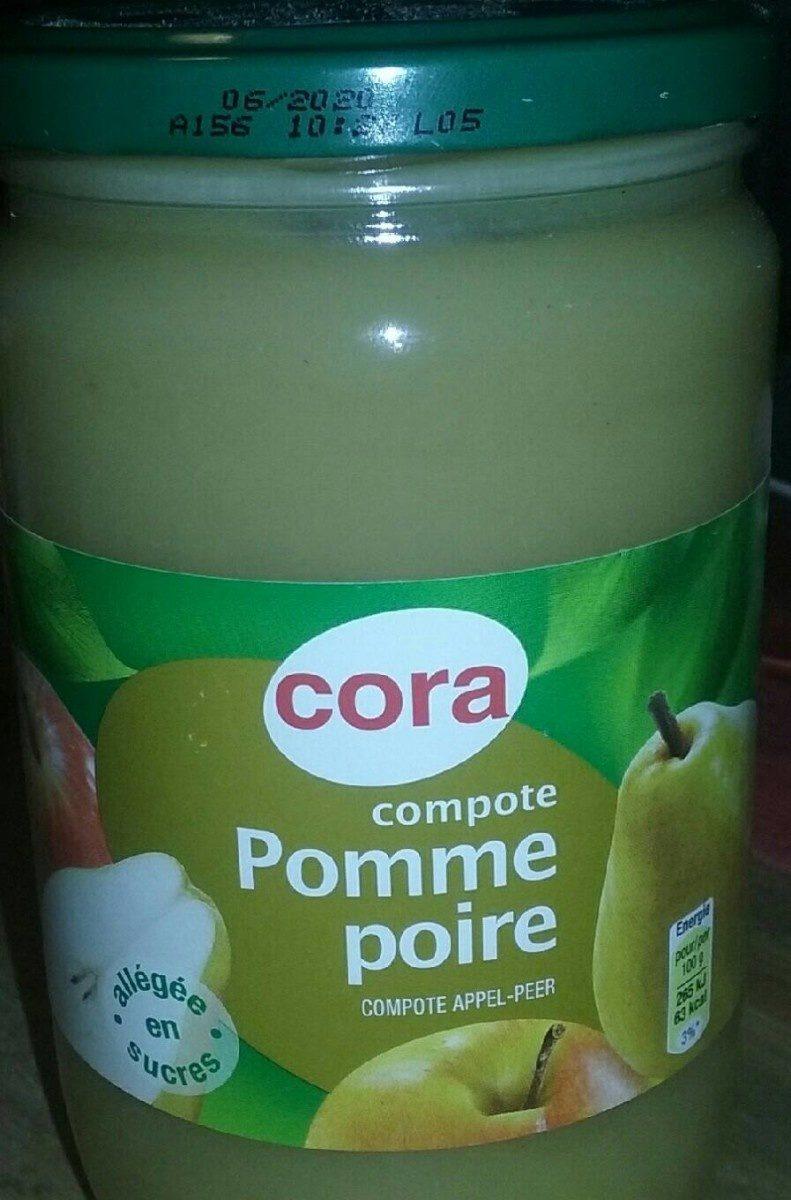 Compote pomme poire - Produit
