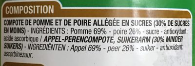 Compote pomme poire - Ingrédients