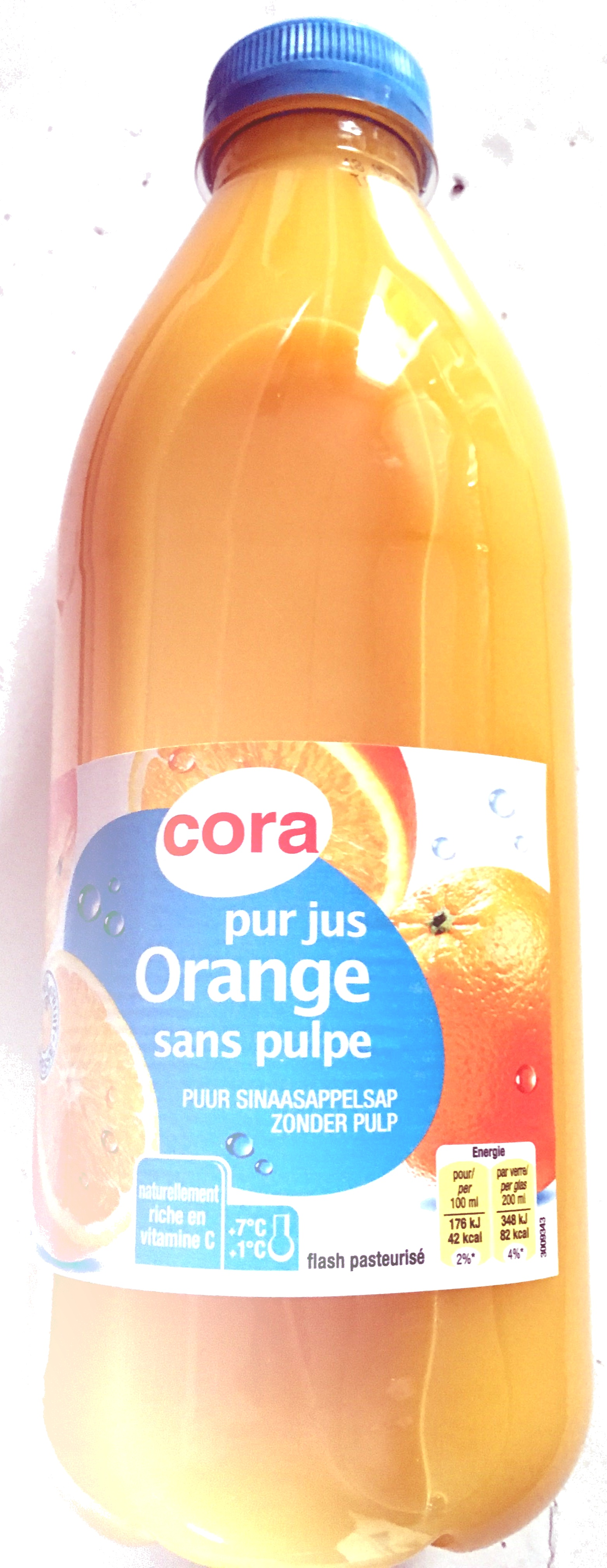 Pur jus Orange sans pulpe - Product
