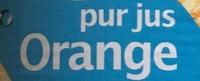 Pur jus Orange sans pulpe - Ingrédients