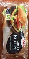 4 Pains Carrés Burger, 330g - Product - fr