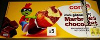 Mini gâteaux marbrées chocolat - Product