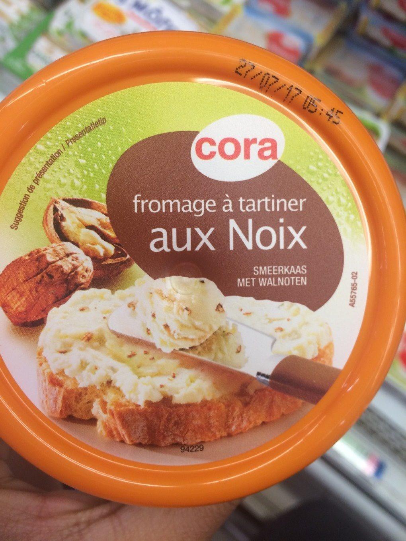 Fromage à tartiner aux noix - Produit - fr