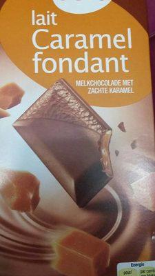 Lait caramel fondant   Chocolat - 1