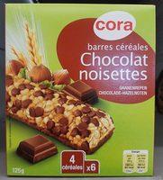 Barres Céréales Chocolat Noir Noisettes - Product - fr