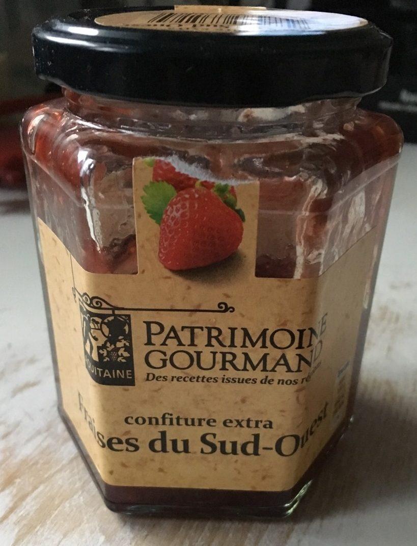 Confiture extra fraise du sud ouest - Product - fr