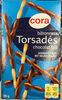 Bâtonnets Torsadés chocolat lait - Produit