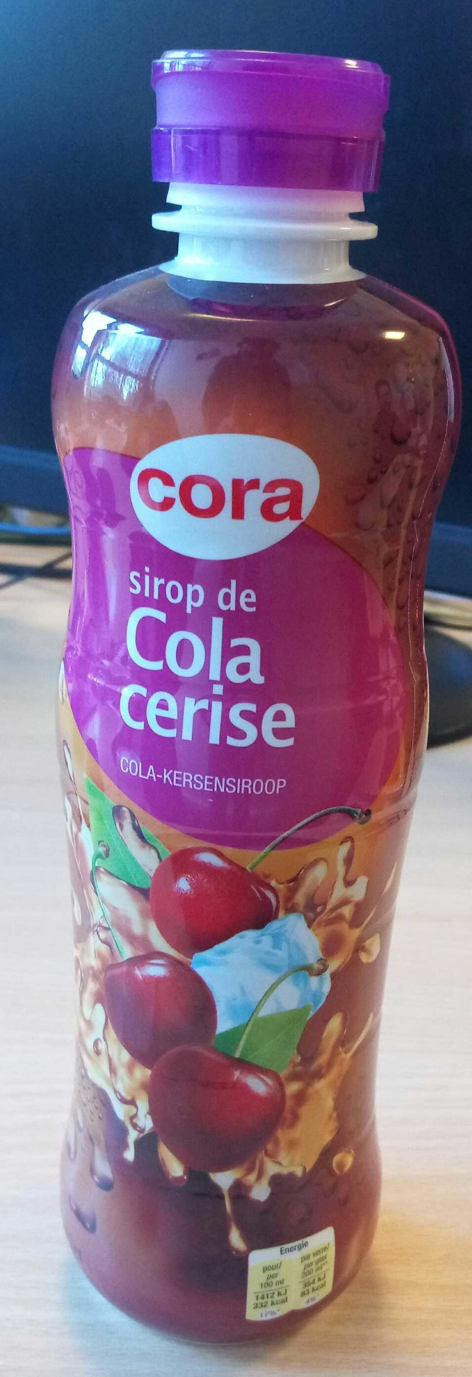 Sirop de Cola cerise - Product