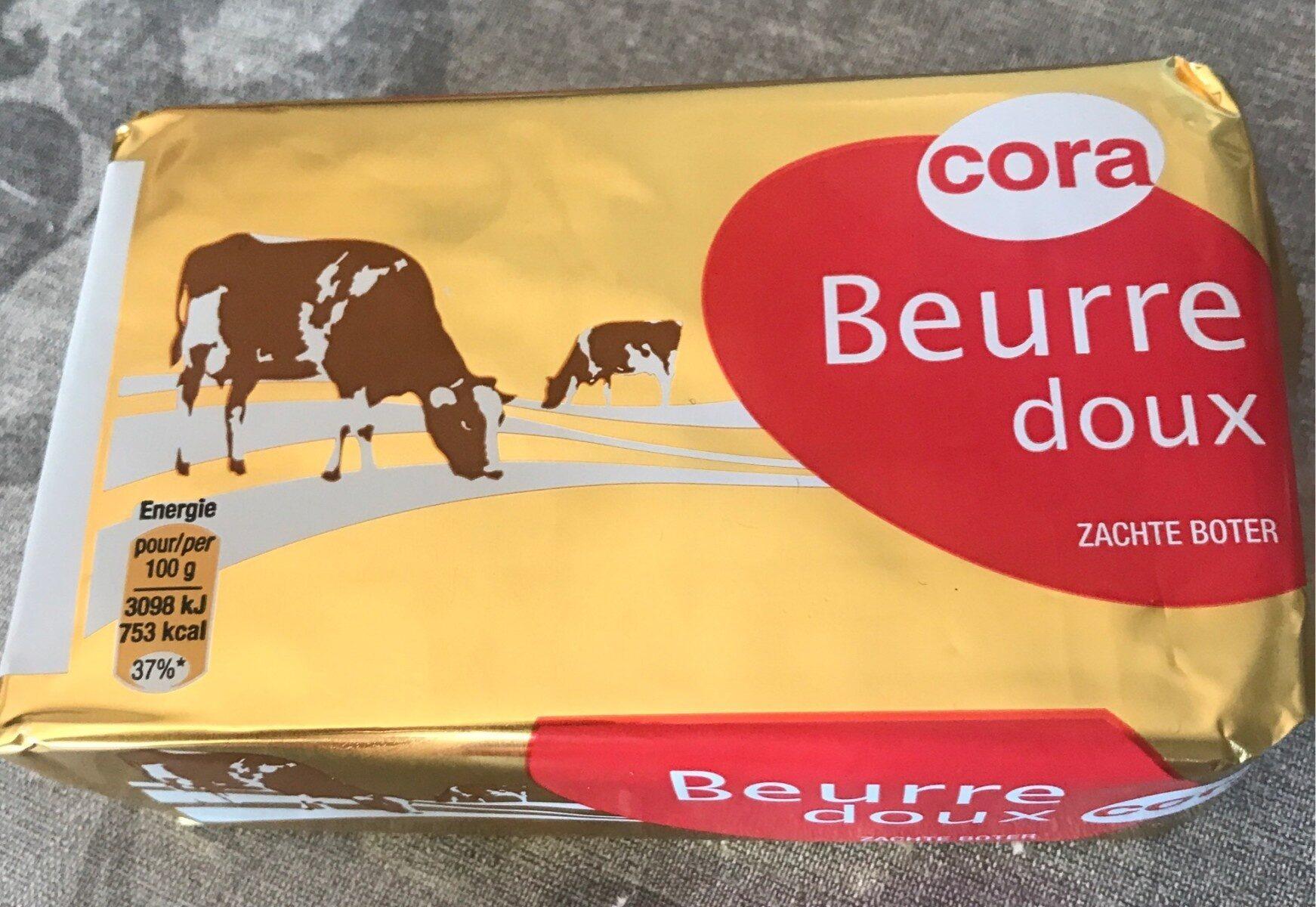 Beurre doux cora - Product - fr