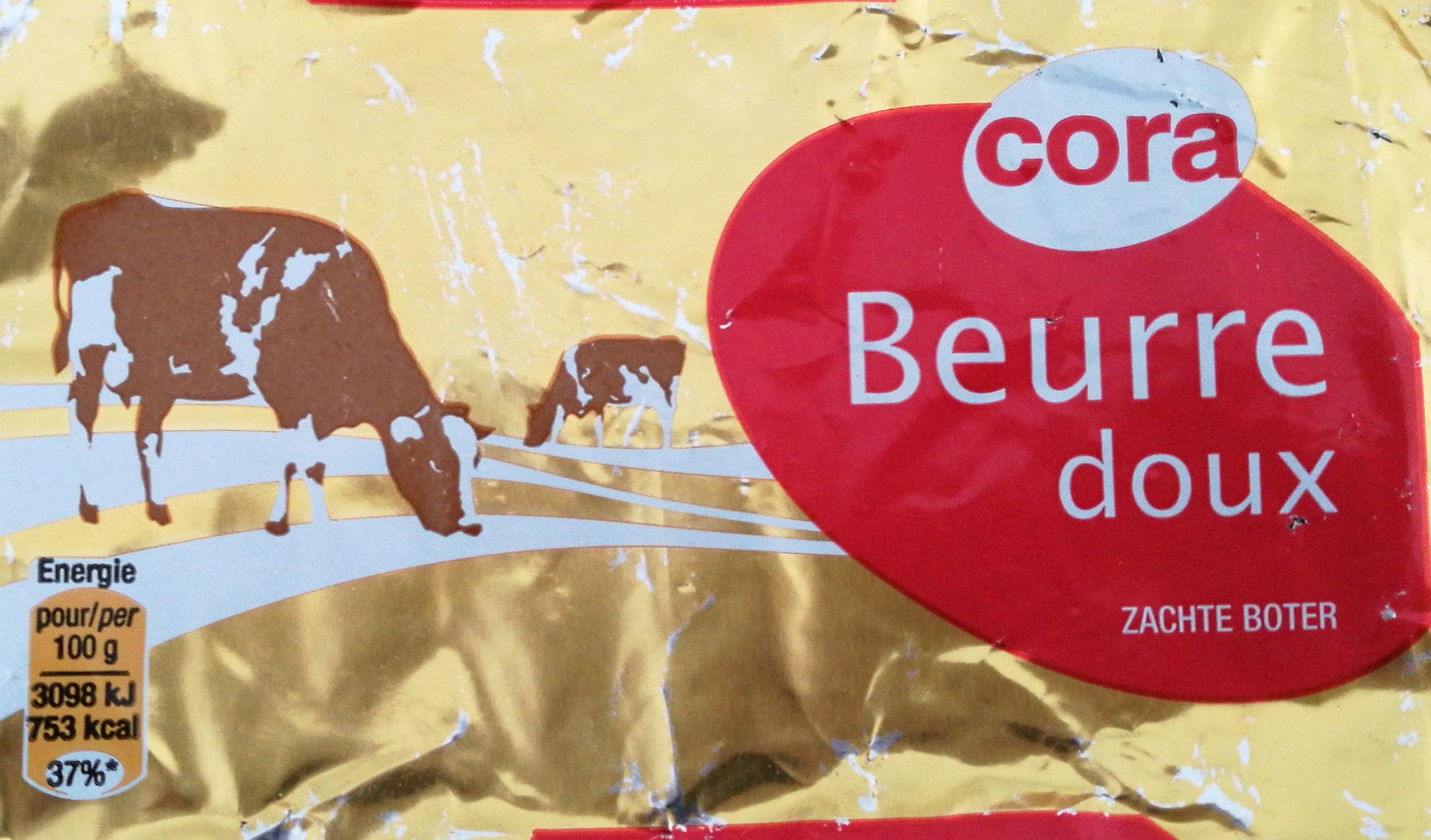 Beurre doux cora - Produit