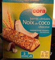 Barre de Céréales Noix de Coco Chocolat - Product - fr