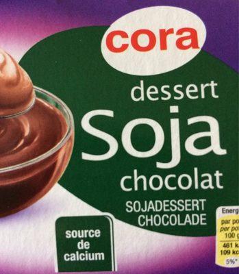 Dessert soja chocolat - Produit - fr