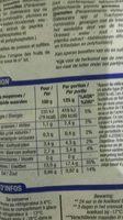 Cocktail de fruits de mer - Nutrition facts