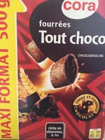Fourrées tout choco - Produit - fr