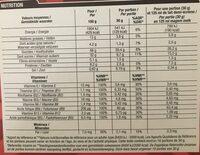Fourrées tout choco - Informations nutritionnelles - fr