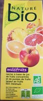 Nectar multifruits - Produit