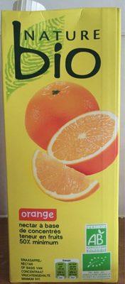 Orange nectar à base de concentré - Product