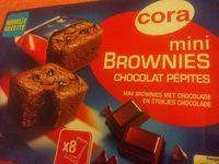 Mini brownies chocolat pépites - Product