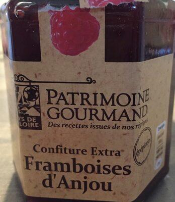 Confiture extra framboise d'Anjou - Produit