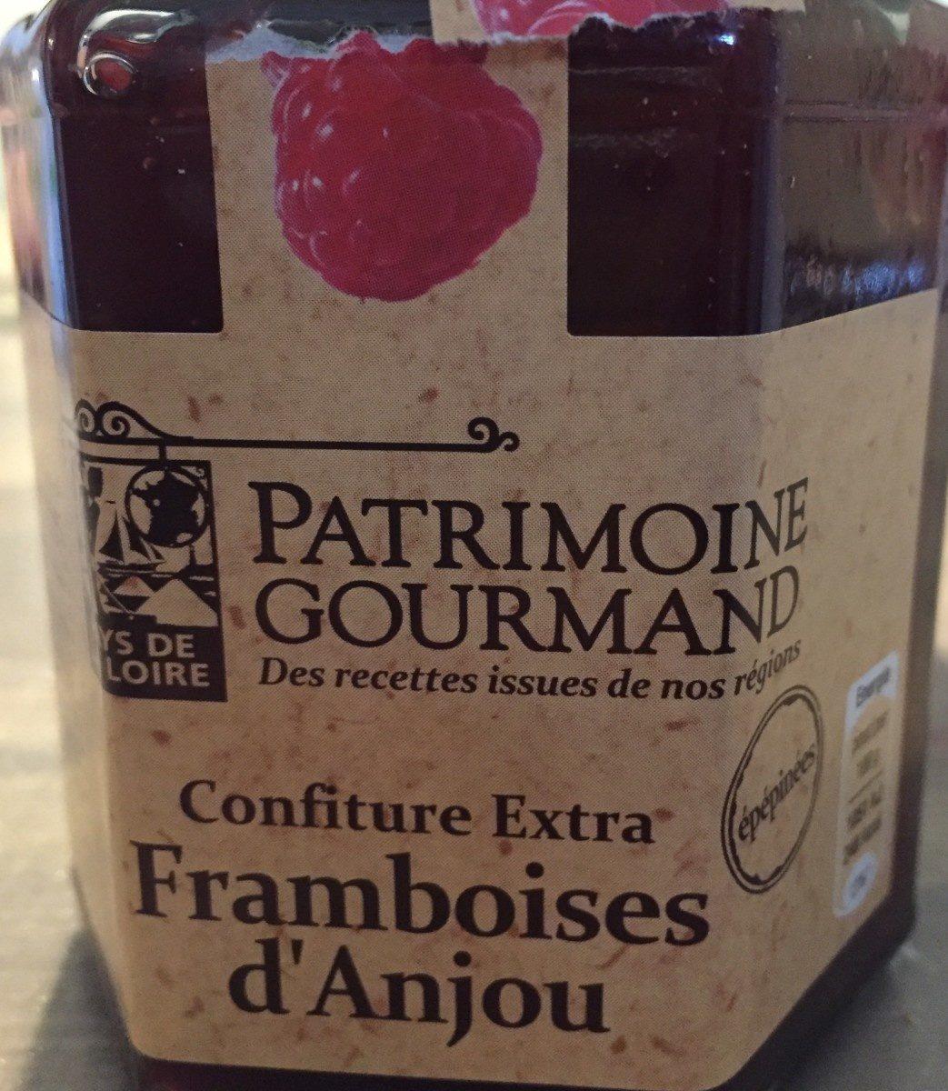Confiture extra framboise d'Anjou - Produit - fr