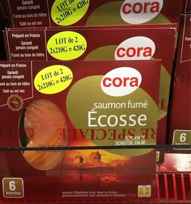 Saumon fume ecosse - Produit - fr