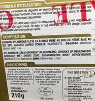 Saumon fume ecosse - Ingrédients - fr