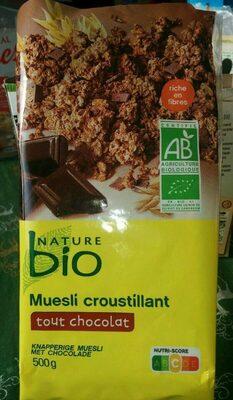 Muesli croustillant tout chocolat - Produit - fr