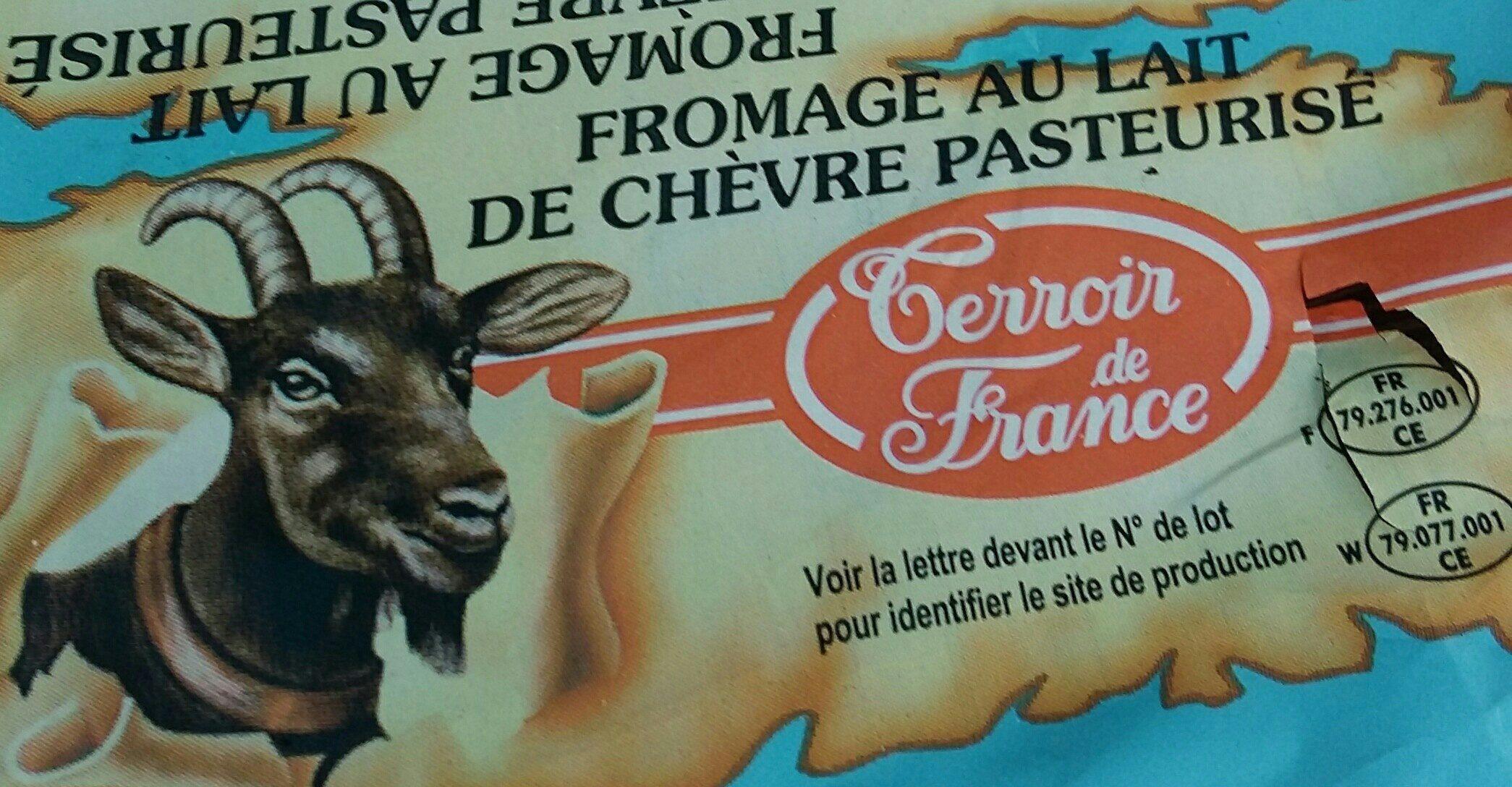 Fromage Au Lait De Chèvre Pasteurisé - Ingrediënten - fr