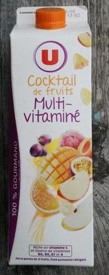 Cocktail de fruits multivitaminé - Produit