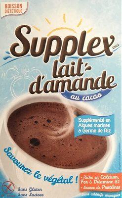 Lait d'amande au cacao - Produit