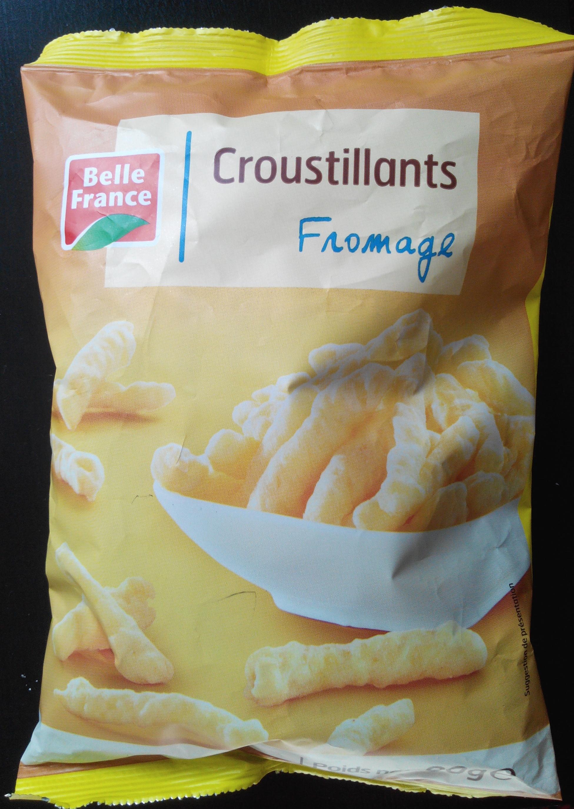 Croustillants fromage - Produit - fr