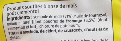 Croustillants fromage - Ingrédients - fr