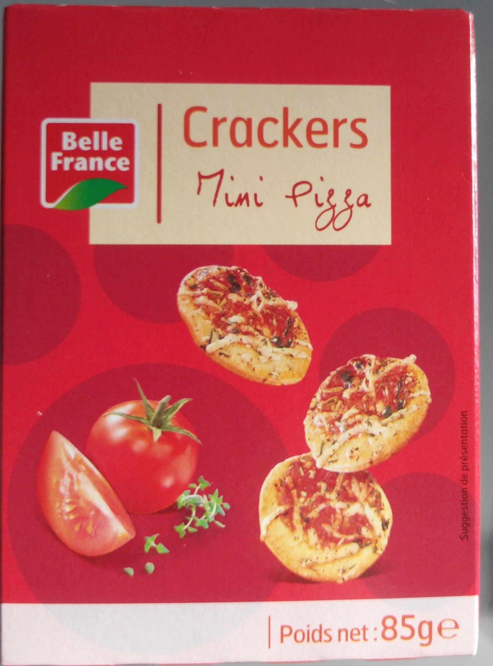 Crackers Mini Pizza - Produit - fr