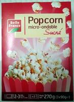 Popcorn micro-ondable sucré - Product