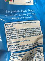 Diablotins salé - Ingredients - fr