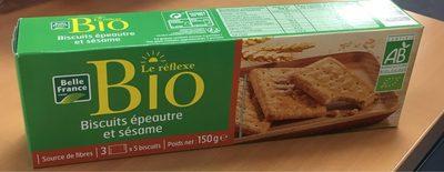 Biscuit epeautre et sesame - Produit - fr