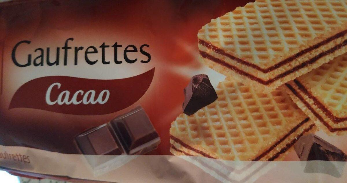 Gaufrettes Cacao - Produit - fr