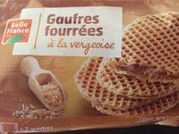 Gaufres fourrées à la vergeoise - Produit - fr