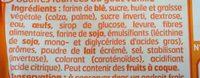 Gaufres Fourrées Goût Vanille - Ingrédients