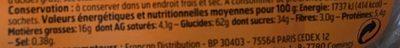Gaufres Fourrées Goût Vanille - Informations nutritionnelles
