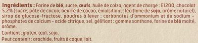 Gâteau Marbré au Chocolat - Ingrédients - fr